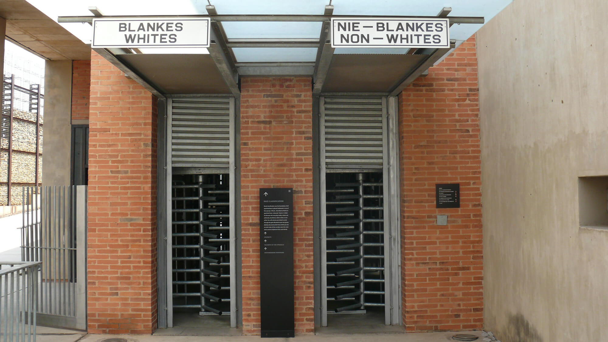 Apartheid Südafrika Nelson Mandela, Soweto Johannesburg Museum